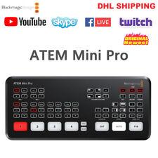 Blackmagic Design ATEM Mini Pro Live Stream Switcher Multi-view Video Recording