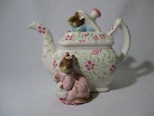 More details for vintage schmid beatrix potter tailor of gloucester music box. plays 'tea for two