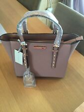 Kurt Geiger Carvela Sammy Studded Tote Bag Dusky Pink -  Brand New RRP £69