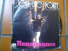 """7"""" JEAN LUC PONTY NEW COUNTRY RENAISSANCE ITALY 1976 COVER EX VINILE EX++"""