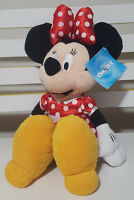 MINNIE MOUSE PLUSH TOY APPROX 40CM TALL DISNEY ON ICE RED SPOTTY DRESS NO TAIL