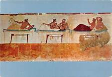 Italy Paestum Plunger's Grave Southern plate with Banquet Scene