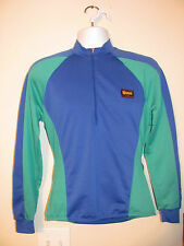 NOVARA by REI Women Size Small Long Sleeve Blue/Green 1/3 Zipper Athletic Jacket