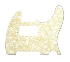 Genuine Fender Hot Rod/Fat Telecaster/Tele White Pearloid Pickguard 005-4058-000