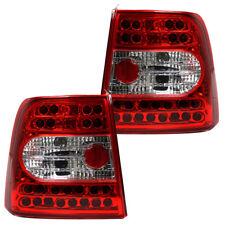 LED Rückleuchten Set Klarglas für VW Passat 3B Limo Bj. 1996-2000 Rot