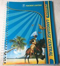 Pearson Language Central Teacher's Edition TE Grade 7 by Cummins NEW!!