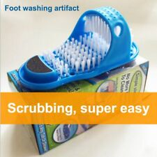 Bathroom Shower Brush Foot Scrubber Bath Feet Shoes Massage Suction Cup Slippers