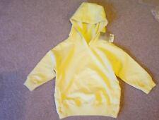BNWT Next Girls Baby Yellow Overhead Hoodie Hoody Age 12 - 18 Months