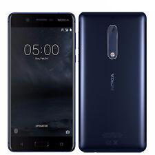 "BNIB 5.2"" Nokia 5 Tempered Blue 16GB Single-SIM Factory Unlocked 4G/LTE OEM New"