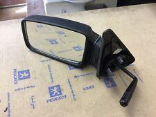 PEUGEOT 205 GTI  MANUAL Door Wing Mirror Left Passenger  N/S 814864