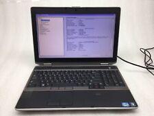 New listing Dell Latitude E6520 Laptop Parts/Repair Boot Core i5-2410M 2.3Ghz 4Gb Ram No Hd