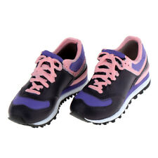 1:6 Lace-up Leisure Shoes for Blythe BJD Doll Changing Decor Pink Black