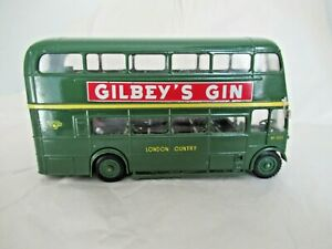Solido No. 4402 AEC RT Double Decker Bus Green Line London Country 1:50 Scale