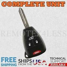 Replacement for 2005 2006 2007 Jeep Liberty Keyless Remote Car Key Fob 4btn