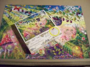 Johanna Basford Enchanted Forest Morning Magic Jigsaw Puzzle 500 Pieces