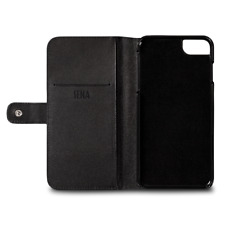 SENA Genuine Leather Wallet Case For Iphone SE (2020) (Black) NEW!!!