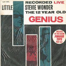 STEVIE WONDER 12 year old genius live <>ORANGE VINYL<> world record LP SLW-1582