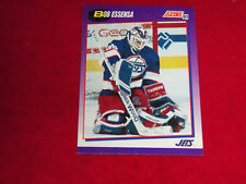 bob essensa (winnipeg jets-goalie) 1991/92  score card #251 mint