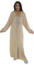 Moroccan Caftan Kaftan Handmade djellaba ibaya jellaba jilbab Fits up to Large
