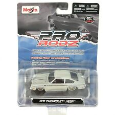 Maisto 1971 71 Chevrolet Chevy Vega Car Iridescent Gray Paint Diecast 1/64 Loose