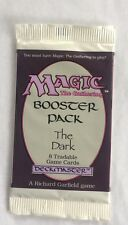 1 The Dark Sealed Booster Pack Mtg Magic English Fresh from Box.