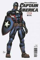 Captain America: Steve Rogers #8 Variant Cover by Mike Deodato Jr