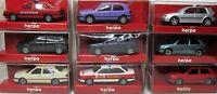 Herpa 1:87 PKW OVP zum auswählen BMW - VW - Opel - Trabant - Porsche - Mini - MB