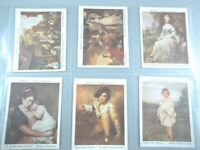 1927 Wills BRITISH SCHOOL OF PAINTING Gainsborough set cards Tobacco Cigarette