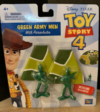 DISNEY PIXAR Toy Story 4 Movie Green Army Men With Working Parachutes
