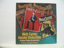 NICK CARTER MASTER DETECTIVE 33 RPM ORIG. RADIO BROADCASTS MARK56 #619 NM-