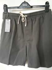 BNWT SIZE 30W MENS GREY SHORTS BY MARKS & SPENCER