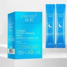 20PC Creamy Skin Cooling Face Mask Body Pamper Washing-Free Face Cream Moisten