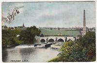 FARLEIGH LOCK - Maidstone - Kent - by F Hartmann - 1906 used postcard