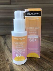 Neutrogena Daily Defense Face Serum Suncreen - Broad Spectrum Spf 60+ Exp 7/22
