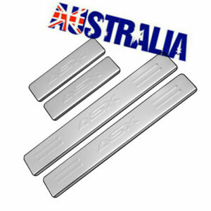 Car Scuff Plate Door Sill 4x Accessories For Mitsubishi ASX 2010-2020