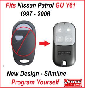 For Nissan PATROL REMOTE GU Y61 Keyless Central Locking Fob  1997 - 2006
