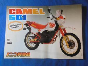 Original Moto Morini Camel 501 Brochure    ads57