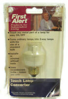 First Alert Touch Lamp Converter White Lamp Appliance Model ESTL1