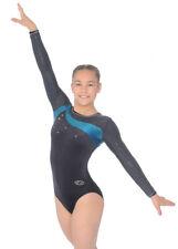 Mermaid Icon Long Sleeve Gymnastics Leotard Size 38 (UK 12 EU40)