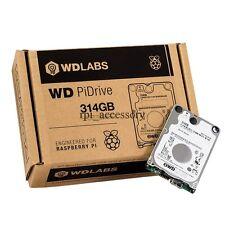 WD PiDrive 314GB Hard Disk Drive Engineered for Raspberry Pi 3/ 2 Model B/  B+
