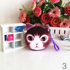 3D Cat Face Purse Coin Money Bag Zipper Cute Wallet Pouch Pocket Makeup Handbag