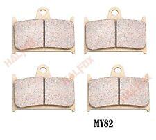 Front  brake disc pads for SUZUKI GSXR 400 1990-1995 GSXR750 1988-1993 RF900R