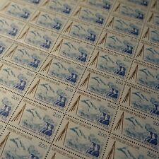 FEUILLE SHEET SELLO SUBIDA DE LA MONT BLANC Nº2422 x50 1986 NEUF MNH