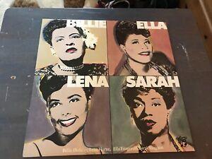 Billie Holiday, Lena Horne, Ella Fitzgerald, Sarah Vaughan - Vinyl