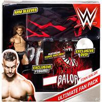 WWE Ultimate Fan Pack FINN BALOR Figure Exclusive Box Set Mattel NXT WWF TNA AEW