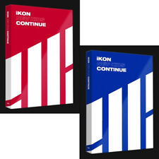 IKON [NEW KIDS:CONTINUE] Album RANDOM Ver CD+PhotoBook+PostCard+PhotoCard SEALED