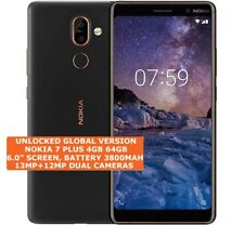 NOKIA 7 PLUS 4gb 64gb 13mp Fingerprint Dual Sim TA -1046 Android Smartphone