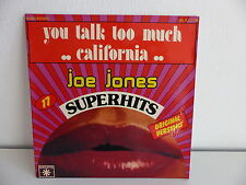 JOE JONES You talk too much / california 45 R 12104