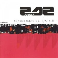 FRONT 242 RE:BOOT LIVE CD 1998 Limited Edition
