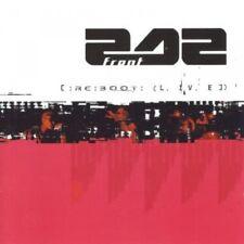 FRONT 242 RE:BOOT LIVE LIMITED CD Digipack / Clickpack 1998 + 2 Bonus Tracks